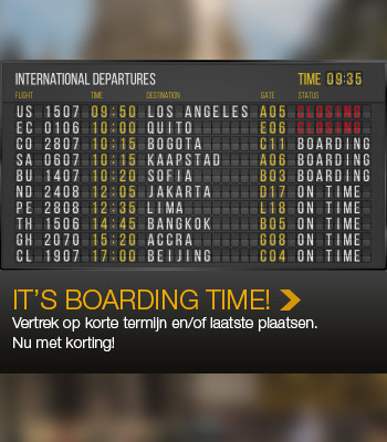 It's boarding time!